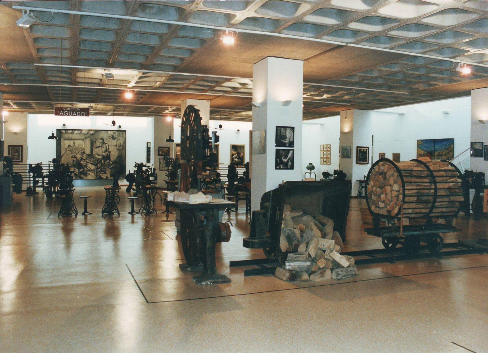 Vista parcial de la sala nº 1 donde se conserva la colección Aguado
